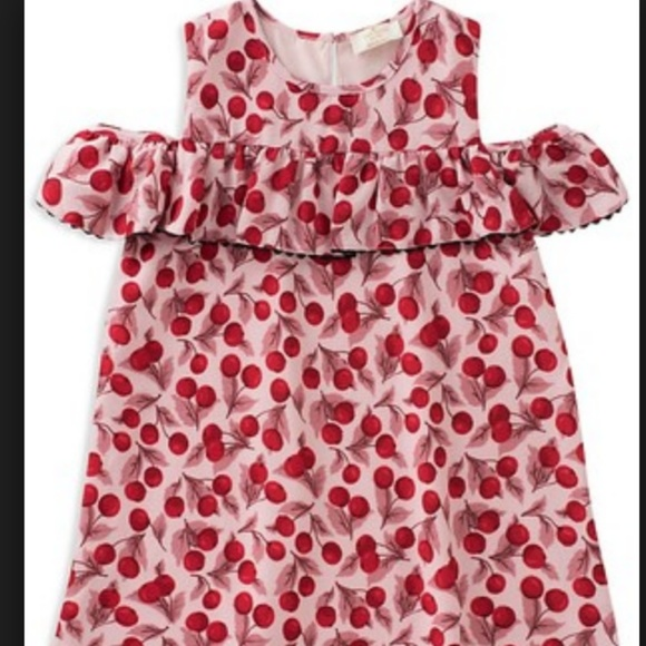 1b816e38d kate spade Dresses | Girls Cherryprint Rufflesleeve Dress | Poshmark
